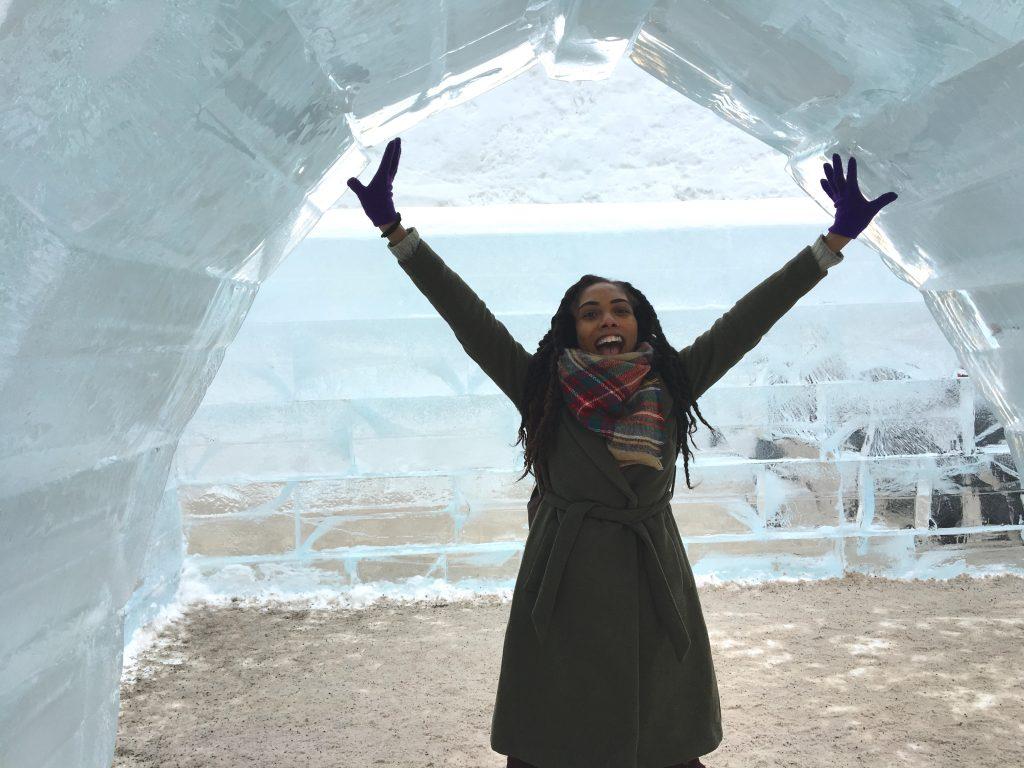 carnaval du quebec ice sculpture