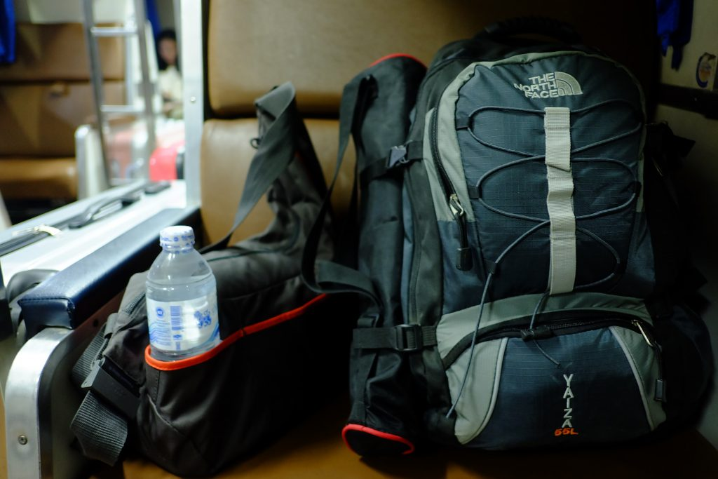 how to travel with one backpack